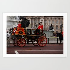 The Royal Carriage 3 Art Print