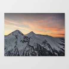 Peaks II Canvas Print
