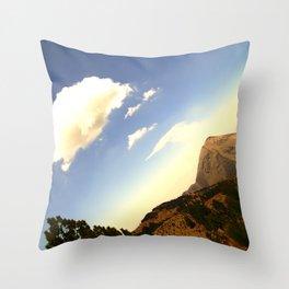 Volcan de Colima Throw Pillow