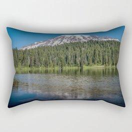 Reflection Lake Rectangular Pillow