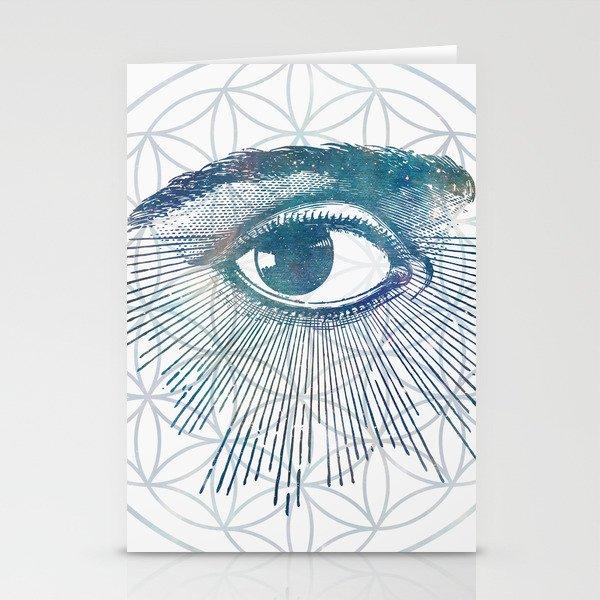 Mandala Vision Flower of Life Stationery Cards
