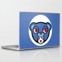pagan Laptop & iPad Skins featuring Pagan Blue by Pagan Holladay