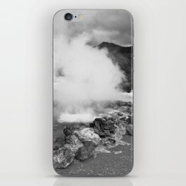 Hot spring iPhone Skin