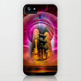 China Art Pearl Tower iPhone Case