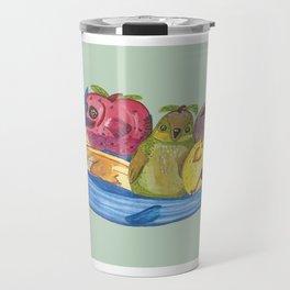 Fruit Bowl Animals Travel Mug