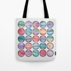 Marble Bubbles Tote Bag