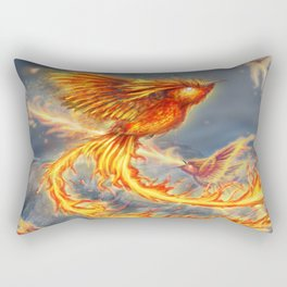 Hummingbird Phoenix Rectangular Pillow