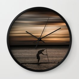 Get up and Dream Wall Clock