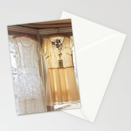 flower and dresses II Stationery Cards