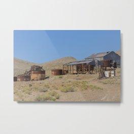 Goldfield Nevada Ghost Town Metal Print