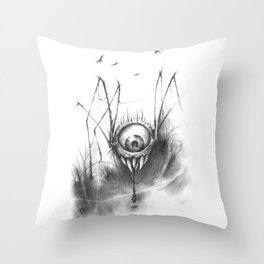 The Snack Throw Pillow