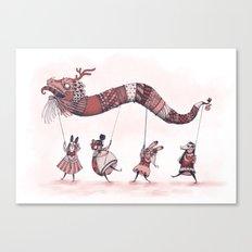 Dragon Parade  Canvas Print