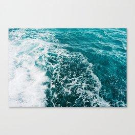 Amalfi Coast Water XVI Canvas Print