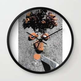 "EPHE""MER"" # 3 Wall Clock"