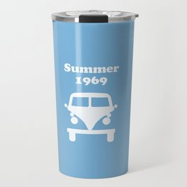 Summer 1969 -  lt. blue Travel Mug