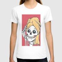 skeleton T-shirts featuring Skeleton by NathanJoyce