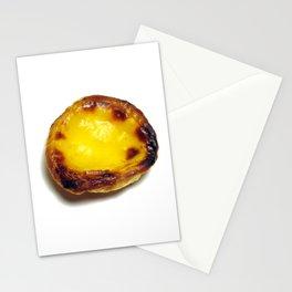 Portuguese custard tart Stationery Cards