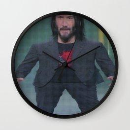 Mini Keanu Wall Clock
