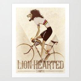 Vintage World Champion Bicycle, Bike, Bikes, Cycling Tour De France Art Print