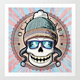 Skull candy! Art Print
