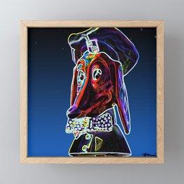 Maximum Doggy Diner Framed Mini Art Print