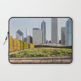 Lurie Garden One Spring Day - Chicago Photography Laptop Sleeve