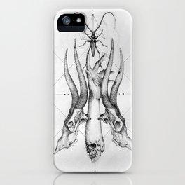 Pointillism iPhone Case