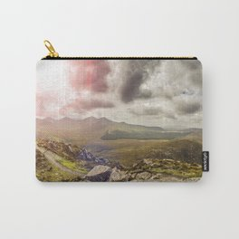 Ireland Mountain Landscape Panorama Carry-All Pouch