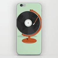 record iPhone & iPod Skins featuring World Record by Ryder Doty