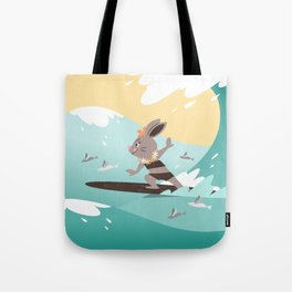 RIA - Surfing Hina Tote Bag