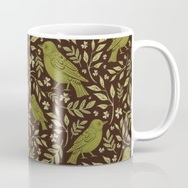 Little Wrens Hiding In The Hedgerow Coffee Mug