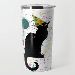 Chat Noir  Party Countdown Travel Mug