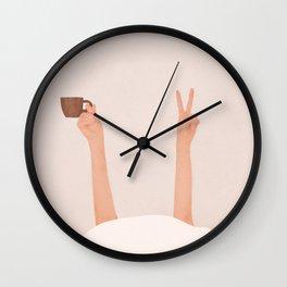 Good Peaceful Morning Wall Clock