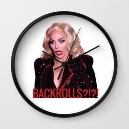 Alyssa Edwards - Backrolls Wall Clock