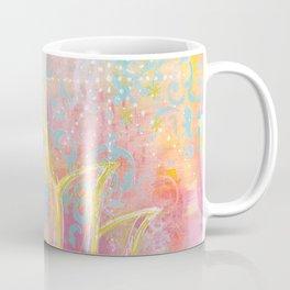 Layered Gold Lotus Painting Coffee Mug
