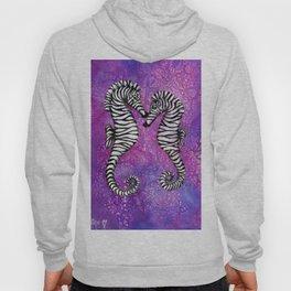 Zebra Seahorses Hoody