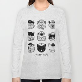 Ocean Cats Long Sleeve T-shirt