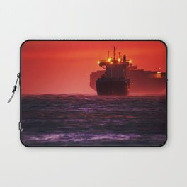 Ships in the windstorm Laptop Sleeve