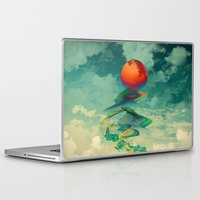 sun Laptop & iPad Skins featuring Reach the Sun! by Klara Acel