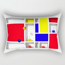 Abstract Glass Cherries 3 by THE-LEMON-WATCH Rectangular Pillow