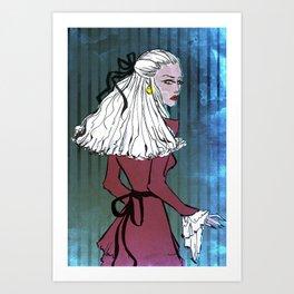 the world destroys the beautiful Art Print
