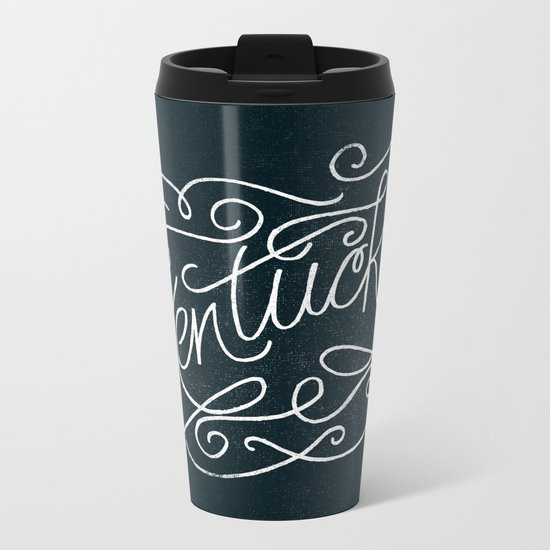 KENTUCKY Metal Travel Mug