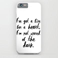 One Direction // Drag me down lyrics iPhone 6s Slim Case