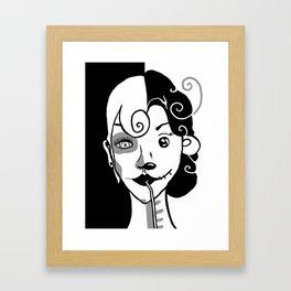 The Alpha Female Framed Art Print