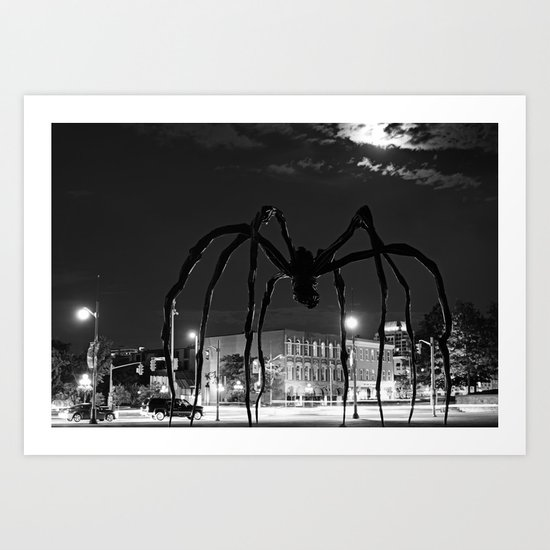 """Maman"" under Moonlight Art Print"