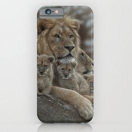 Lion - Family Man iPhone Case