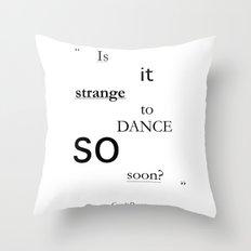 Strange? Throw Pillow