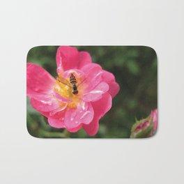 Flower Bee Bath Mat