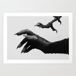 Gentle Creatures Art Print