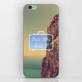 Pack Your Bags: Gibraltar iPhone Skin
